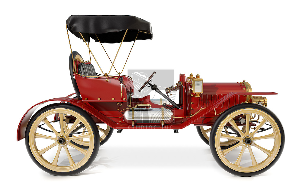 1910 style antique car