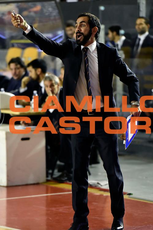 DESCRIZIONE : Roma Eurocup 2014/15 Acea Roma Baloncesto Seville<br /> GIOCATORE : Federico Fuca&rsquo;<br /> CATEGORIA : delusione<br /> SQUADRA : Acea Roma<br /> EVENTO : Eurocup 2014/15<br /> GARA : Acea Roma Baloncesto Seville<br /> DATA : 29/10/2014<br /> SPORT : Pallacanestro <br /> AUTORE : Agenzia Ciamillo-Castoria /GiulioCiamillo<br /> Galleria : Acea Roma Baloncesto Seville<br /> Fotonotizia : Roma Eurocup 2014/15 Acea Roma Baloncesto Seville<br /> Predefinita :