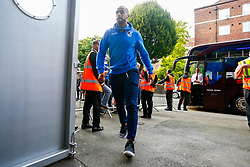 Stefan Payne of Bristol Rovers arrives at Loftus Road prior to kick off  - Mandatory by-line: Ryan Hiscott/JMP - 28/08/2018 - FOOTBALL - Loftus Road - London, England - Queens Park Rangers v Bristol Rovers - Carabao Cup