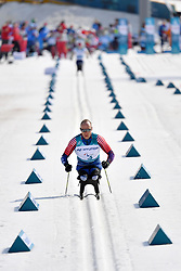 SOULE Andrew USA LW12 competing in the ParaSkiDeFond, Para Nordic Skiing, Sprint at  the PyeongChang2018 Winter Paralympic Games, South Korea.