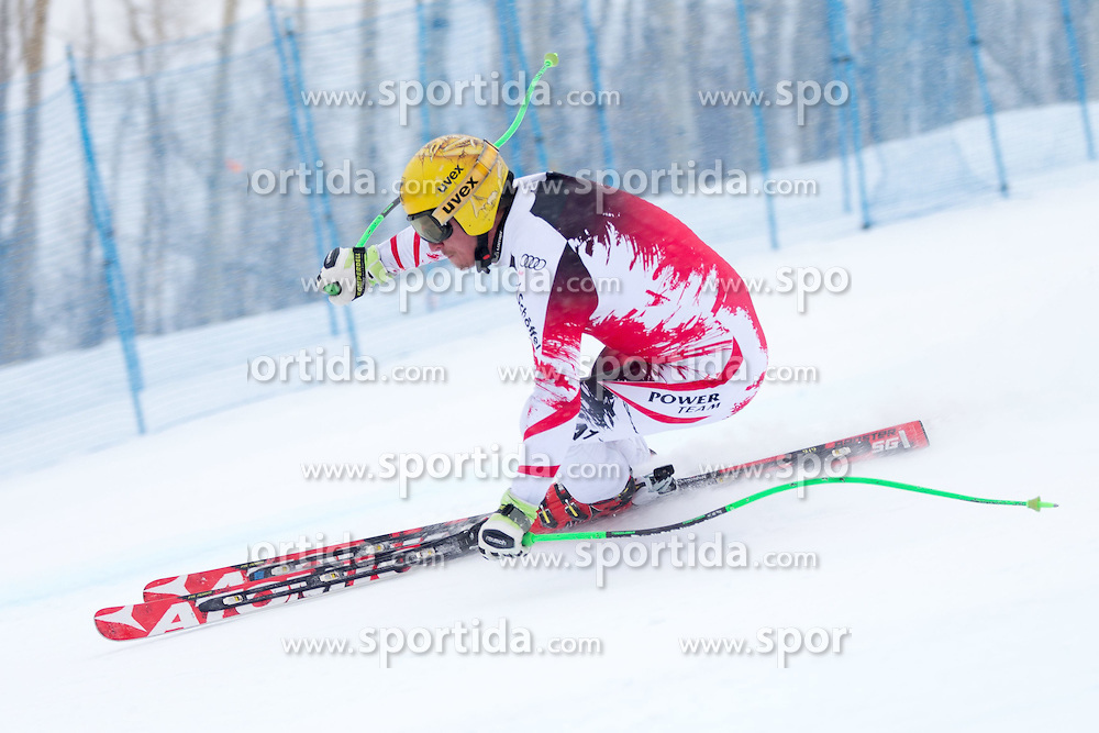 30.01.2015, Golden Peak Strecke, Vail, USA, FIS Weltmeisterschaften Ski Alpin, Training, im Bild Max Franz (AUT) // Max Franz of Austria in Action during a practice run for the FIS Ski World Championships 2015 at the Golden Peak Course, Vail, United States on 2015/01/30. EXPA Pictures © 2015, PhotoCredit: EXPA/ Johann Groder