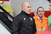 Walsall manager Jon Whitney during the EFL Sky Bet League 1 match between Walsall and Oldham Athletic at the Banks's Stadium, Walsall, England on 4 March 2017. Photo by Jacqueline Theodosi.