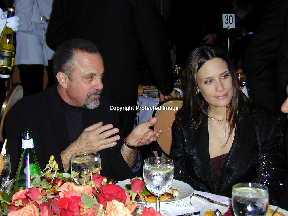 Billy Joel and friend<br />