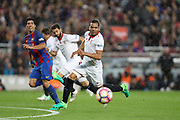 GABRIEL MERCADO of Sevilla FC during the Spanish championship Liga football match between FC Barcelona and Sevilla FC on April 5, 2017 at Camp Nou stadium in Barcelona, Spain. <br /> Photo Manuel Blondeau / AOP Press / ProSportsImages / DPPI