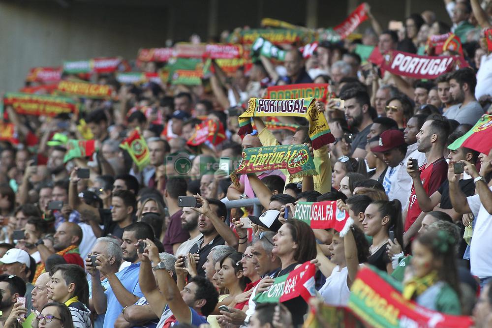 August 31, 2017 - Porto, Porto, Portugal - Portugal fans during the FIFA World Cup Russia 2018 qualifier match between Portugal and Faroe Islands at Bessa Sec XXI Stadium on August 31, 2017 in Porto, Portugal. (Credit Image: © Dpi/NurPhoto via ZUMA Press)