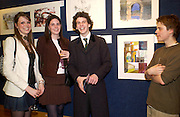 Genevieve Chapman, Laura Cathcart, George Greenock, and Ed Baillie, Hip Art, in aid of Stowe House Preservation Trust and friends of War Memorials. Christie's. 16 March 2004. ONE TIME USE ONLY - DO NOT ARCHIVE  © Copyright Photograph by Dafydd Jones 66 Stockwell Park Rd. London SW9 0DA Tel 020 7733 0108 www.dafjones.com