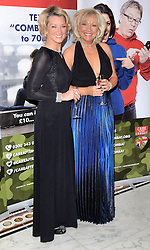 Gillian Taylforth and Kim Tatlforth attend The Care After Combat Inaugural Ball at The Dorchester Hotel, Park Lane, London on the Tuesday 31st March 2015