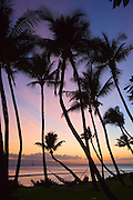 Sunset, Kaanapali Beach, Maui, Hawaii