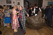 JEAN WAINWRIGHT; RICHARD WILSON, Royal Academy Summer exhibition party. Piccadilly. 7 June 2016