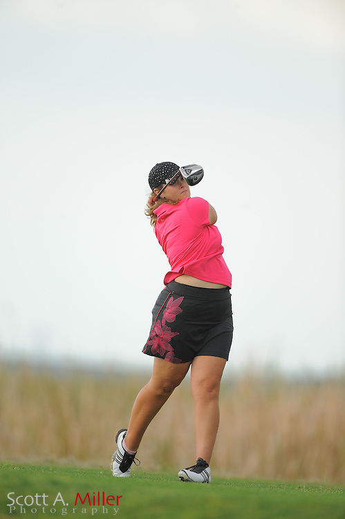 Nikki Hadd during the second round of the Symetra Tour's Florida's Natural Charity Classic at the Lake Region Yacht and Country Club on March 24, 2012 in Winter Haven, Fla. ..©2012 Scott A. Miller.