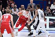 Gudaitis Arturas<br /> A|X Armani Exchange Milano - Trentino<br /> Lega Basket Serie A<br /> Milano 06/01/2019<br /> Foto : Ivan Mancini / Ciamillo
