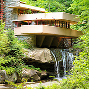 &quot;Glance at Fallingwater&quot;<br />