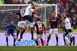 """Foto Filippo Rubin<br /> 11/03/2018 Bologna (Italia)<br /> Sport Calcio<br /> Bologna - Atalanta - Campionato di calcio Serie A 2017/2018 - Stadio """"Renato Dall'Ara""""<br /> Nella foto: <br /> <br /> Photo by Filippo Rubin<br /> March 11, 2018 Bologna (Italy)<br /> Sport Soccer<br /> Bologna vs Atalanta - Italian Football Championship League A 2017/2018 - """"Renato Dall'Ara"""" Stadium <br /> In the pic:"""