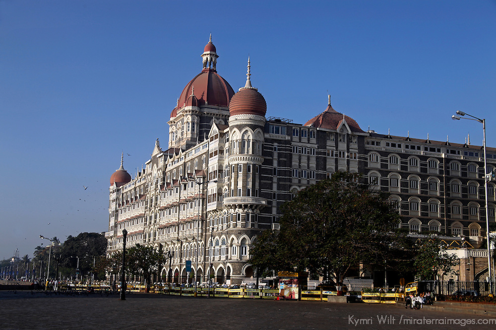 Asia, India, Mumbai. The historic Taj Mahal Hotel.