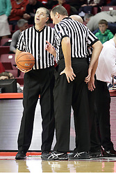13 December 2015: Jeff Malham and Brad Ferrie. Illinois State Redbirds host the Murray State Racers at Redbird Arena in Normal Illinois (Photo by Alan Look)