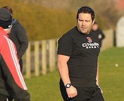 Ballinrobe RFC coach Trevor Watson<br />Pic Conor McKeown