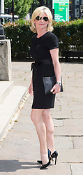 © Licensed to London News Pictures. 22/05/2018. London, UK. ANTHEA TURNER attends the funeral of television presenter Dale Winton at Commonwealth Church in Marylebone, London. Dale Winton, who was found dead at his home on April 18, was famous for presenting Supermarket Sweep and National Lottery game show. Photo credit: Ben Cawthra/LNP