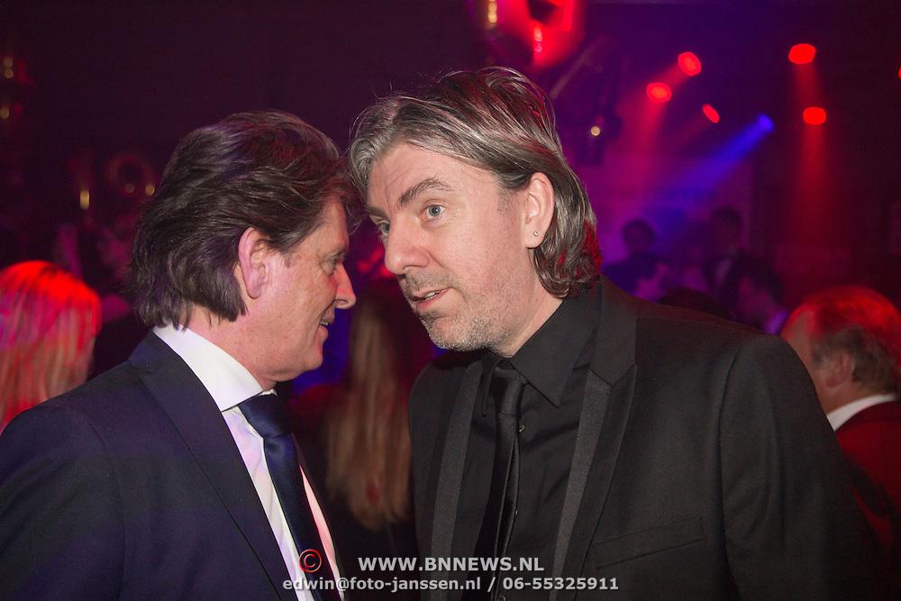 NLD/Amsterdam/20160321 - Edison Pop Awards 2016, Erik de Zwart en Ruud de Wild