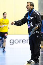 Ljubomir Vranjes of SG Flensburg-Handewitt during the handball match between RK Gorenje Velenje and SG Flensburg-Handewitt (GER) in 10th Round of EHF Champions League 2014 on February 22, 2014 in Rdeca Dvorana, Velenje, Slovenia. Photo by Matic Klansek Velej / Sportida