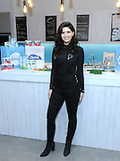 Author and lifestyle blogger Katherine Schwarzenegger shares her ideas for Super Bowl party prep, Tuesday, Jan. 31, 2017, in New York, including helping football-watching fans be prepared for the Halftime #BathroomBreak with Febreze and Charmin.  Party hosts should include new Febreze with OdorClear technology and Charmin Ultra Strong on their shopping lists to help keep their bathroom fresh and their guests feeling clean.   (Photo by Diane Bondareff/Invision for Febreze & Charmin/AP Images)