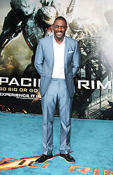 @ London News PIctures. Idris Elba at  Pacific Rim European Film Premiere, BFI IMAX Waterloo, London UK, 04 July 2013. Photo by Richard Goldschmidt/LNP