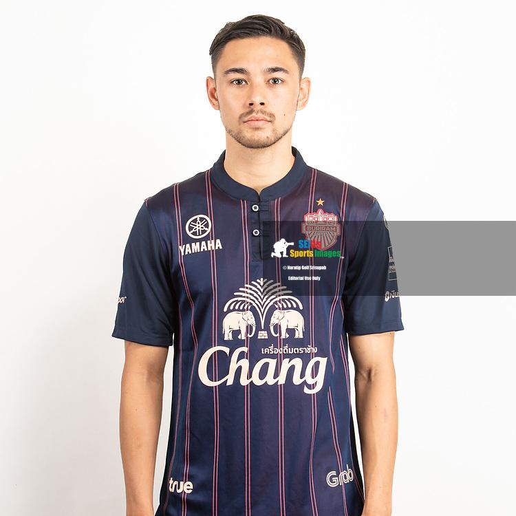 THAILAND - JUNE 26: Kevin Ingreso #22 of Buriram United on June 26, 2019.<br /> .<br /> .<br /> .<br /> (Photo by: Naratip Golf Srisupab/SEALs Sports Images/MB Media Solutions)