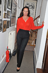 TRICIA RONANE at a dinner hosted by Bella Freud for German artist Marcel Odenbach at her home 275 Kensal Road, London W10 on 6th June 2011.