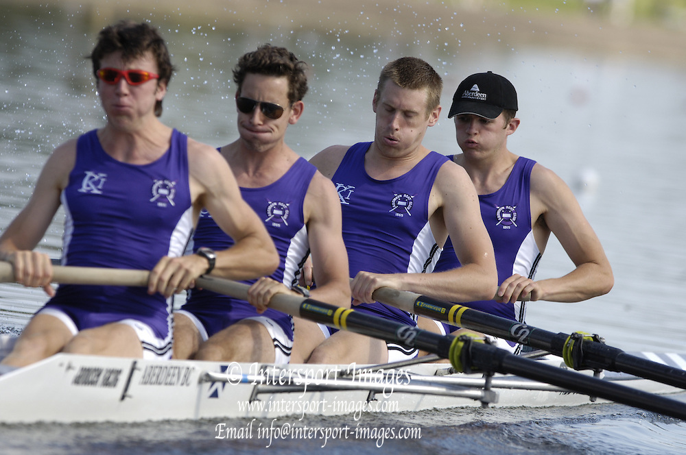 2006, National Rowing Championships, O4+ M4+ Aberdeen RC  Strathclyde Country Park,  Motherwell, SCOTLAND. 15.07.2006.  Photo  Peter Spurrier/Intersport Images email images@intersport-images.com.... Rowing Course, Strathclyde Country Park,  Motherwell, SCOTLAND.