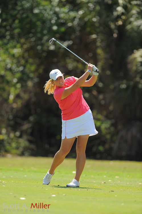 Cara Freeman during the final round of the Symetra Tour's Florida's Natural Charity Classic at the Lake Region Yacht and Country Club on March 25, 2012 in Winter Haven, Fla. ..©2012 Scott A. Miller.