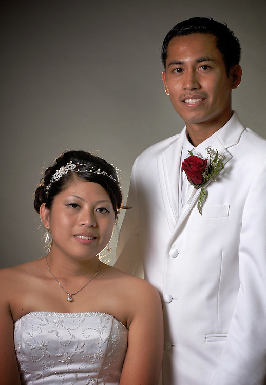 Brian Dongon and Joanna Marie Apelacion get married on June 20, 2009 in Pensacola, Florida.