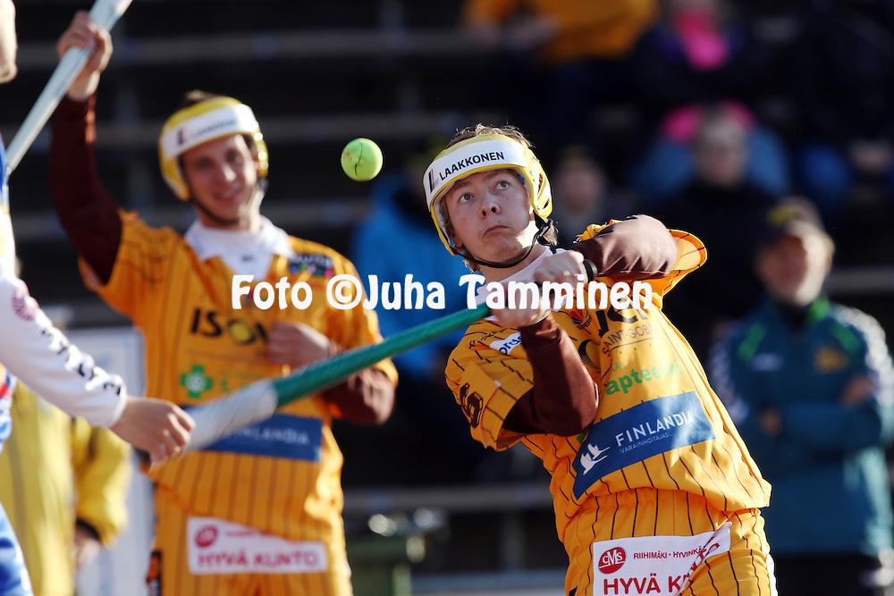 13.5.2016, Pihkala, Hyvink&auml;&auml;.<br /> Superpesis 2016.<br /> Hyvink&auml;&auml;n Tahko - Oulun Lippo.<br /> Valtteri Virtanen - Hyvink&auml;&auml;