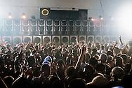 Baile Funk at Boqueirão club, Rio de Janeiro.  Soundsystem Furacão Gigante, 2008. || Baile Funk au Clube do Boquerão, Rio de Janeiro. Equipe de som (soundsystem) Furacão Gigante, 2008.