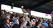 Mansfield fans in joyus mood ahead of the Sky Bet League 2 match between Portsmouth and Mansfield Town at Fratton Park, Portsmouth, England on 24 October 2015. Photo by Michael Hulf.