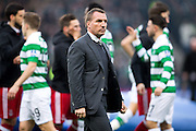 Celtic manager Brendan Rogers before the Scottish Cup final match between Aberdeen and Celtic at Hampden Park, Glasgow, United Kingdom on 27 November 2016. Photo by Craig Doyle.