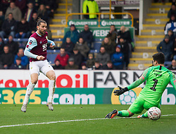 Jay Rodriguez of Burnley scores his sides fourth goal - Mandatory by-line: Jack Phillips/JMP - 04/01/2020 - FOOTBALL - Turf Moor - Burnley, England - Burnley v Peterborough United - English FA Cup