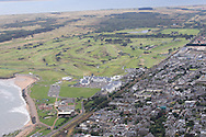 Carnoustie Golf Course by Air<br /> <br /> Picture Fran Caffrey www.golffile.ie