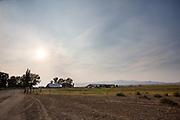 De Tomera Ranch in Battle Mountain, Nevada. De ranch is ongeveer 600.000 vierkante meter groot en loopt tot op Mount Lewis. De koeien worden vooral gebruikt voor voedsel.<br /> <br /> The Tomera Ranch in Battle Mountain, Nevada. The ranch is about 150,000 acres and goes up to mount Lewis. The cattle is used for meat.