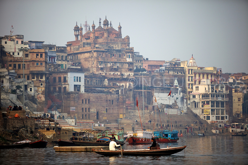 A scene on the Ganges.<br />