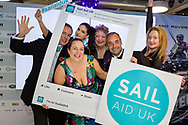 Trustees at the Sail Aid UK charity dinner this evening at Land Rover BAR in Portsmouth, the home of Sir Ben Ainslie's America's Cup team. The Sail Aid UK charity was created following the devastating hurricanes that struck the Caribbean in September this year. Their mission is to help those Islands and their communities that were so tragically affected by the hurricanes to rebuild, restore, and regenerate their communities, be it through educational, health and welfare, building, or tourism promotion projects.<br /> Picture date: Saturday November 11, 2017.<br /> Photograph by Christopher Ison &copy;<br /> 07544044177<br /> chris@christopherison.com<br /> www.christopherison.com