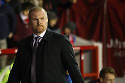 Burnley Manager Sean Dyche Burnley - Mandatory byline: Jack Phillips / JMP - 07966386802 - 20/10/2015 - FOOTBALL - The City Ground - Nottingham, Nottinghamshire - Nottingham Forest v Burnley - Sky Bet Championship
