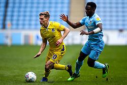 Gavin Reilly of Bristol Rovers takes on Brandon Mason of Coventry City - Mandatory by-line: Robbie Stephenson/JMP - 07/04/2019 - FOOTBALL - Ricoh Arena - Coventry, England - Coventry City v Bristol Rovers - Sky Bet League One