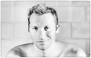 Ian THORPE of Australia poses for a photo at his 50m outdoor training pool at the Centro sportivo nazionale della gioventu in Tenero, Switzerland, Friday, Sept. 9, 2011. (Photo by Patrick B. Kraemer / MAGICPBK)