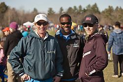 New England High School XC Championship, Bill Reilly, Fryeburg coach, Joan Samuelson