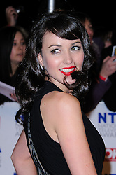 Karen Hassan at the National Television Awards held in London on Wednesday, 25th January 2012. Photo by: i-Images
