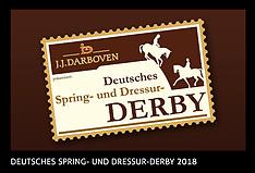 Hamburg - Deutsches Spring- und Dressur Derby 2018