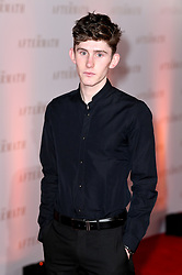 Fionn O'Shea attending the world premiere of The Aftermath at the Picturehouse Central Cinema in London