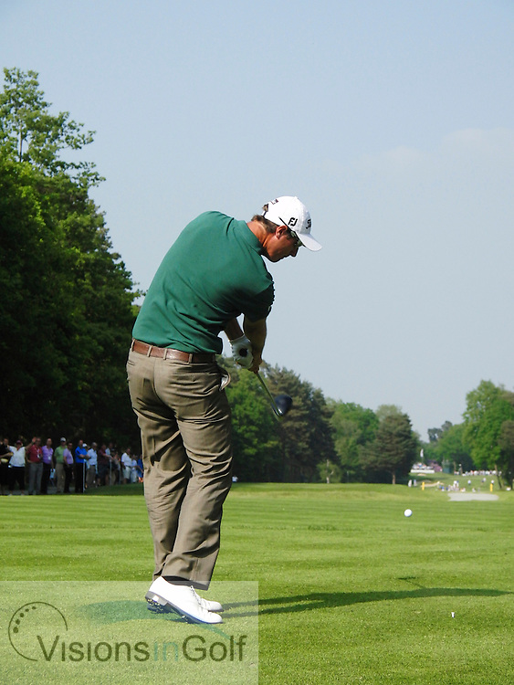 Nicolas Colsaerts<br />  high speed swing sequence May 2012<br /> Picture Credit: Mark Newcombe / www.visionsingolf.com