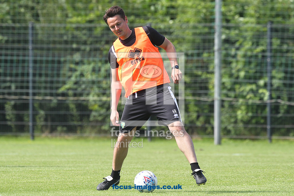 Norwich Assistant Head Coach Eddie Riemer during the Norwich City Pre-Season Training session at Hotel Klosterpforte, Harsewinkel, Germany<br /> Picture by Paul Chesterton/Focus Images Ltd +44 7904 640267<br /> 18/07/2017