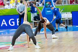 04.09.2013, Arena Bonifka, Koper, SLO, Eurobasket EM 2013, Tuerkei vs Finnland, im Bild Cheerleaders // during Eurobasket EM 2013 match between Turkey and Finland at Arena Bonifka in Koper, Slowenia on 2013/09/04. EXPA Pictures © 2013, PhotoCredit: EXPA/ Sportida/ Matic Klansek Velej<br /> <br /> ***** ATTENTION - OUT OF SLO *****