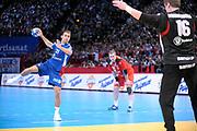 DESCRIZIONE : France Tournoi international Paris Bercy Equipe de France Homme France Islande 17/01/2010<br /> GIOCATORE : Guigou Michael<br /> SQUADRA : France<br /> EVENTO : Tournoi international Paris Bercy<br /> GARA : France Islande<br /> DATA : 17/01/2010<br /> CATEGORIA : Handball France Homme Action<br /> SPORT : HandBall<br /> AUTORE : JF Molliere par Agenzia Ciamillo-Castoria <br /> Galleria : France Homme 2009/2010 <br /> Fotonotizia : France Tournoi international Paris Bercy Equipe de France Homme France Islande 17/01/2010 <br /> Predefinita :